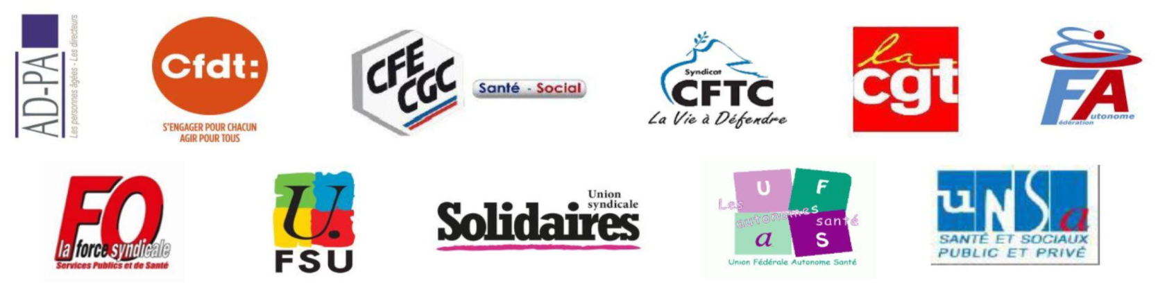 Organisations Syndicales et AD-PA
